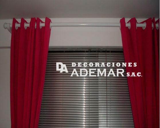cortinas con persianas