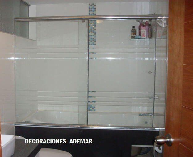 Puertas de duchas vidrio templado puertas para duchas for Puerta cristal templado