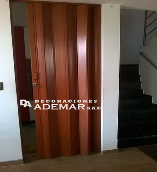puertas plegables marron