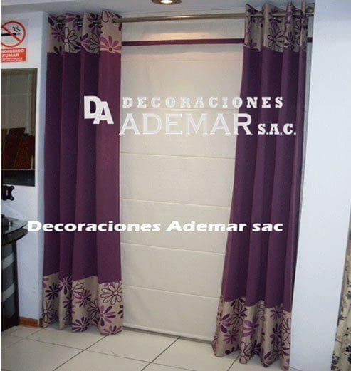 Cortinas cortinas modernas cortinas para sala cortinas for Cortinas de tela modernas