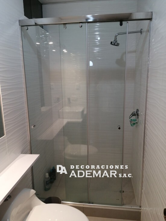 puertas de duchas