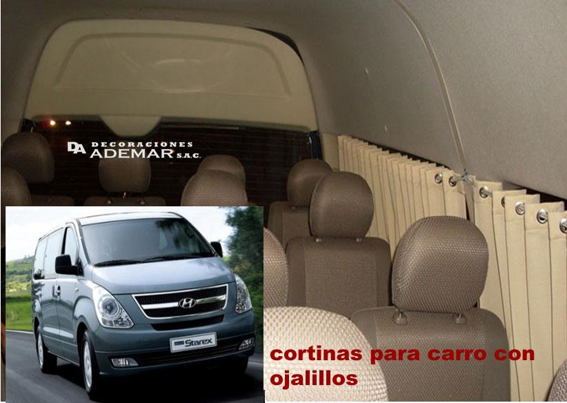 cortinas de carro